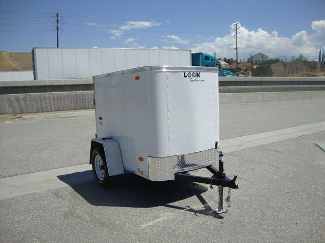 2013 LOOK TRAILERS LOOK TRAILERS STLC4X6SI2 4X6 CARGO - REDLANDS, CA