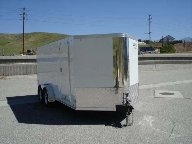 2014 LOOK TRAILER V-nose Landscape Trailer 16ftx7ft - REDLANDS, CA