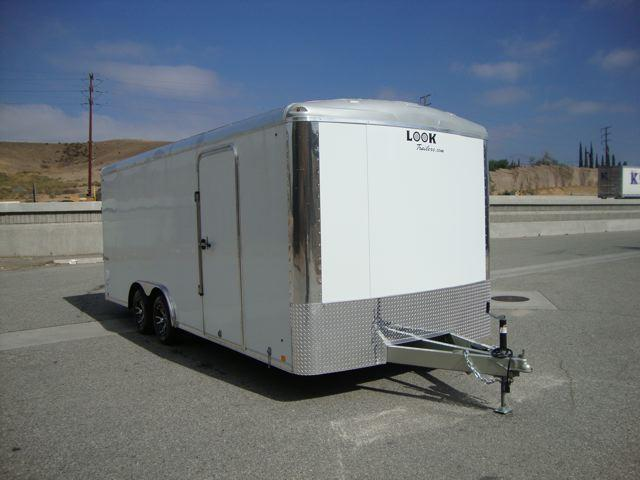 2013 LOOK TRAILERS LOOK VISION 85X20  SHOW CAR HAULER FOR SALE - REDLANDS,