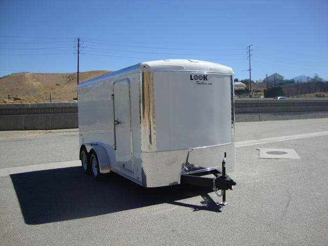 2013 LOOK TRAILERS VISION 7X14 TANDEM AXLE ENCLOSED TRAILER - REDLANDS, CA