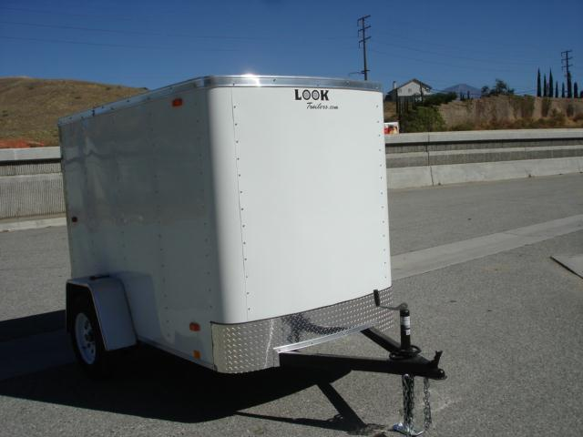 2013 LOOK TRAILERS 5X8 ECONOMY FRIENDLY CARGO TRAILER - REDLANDS, CA