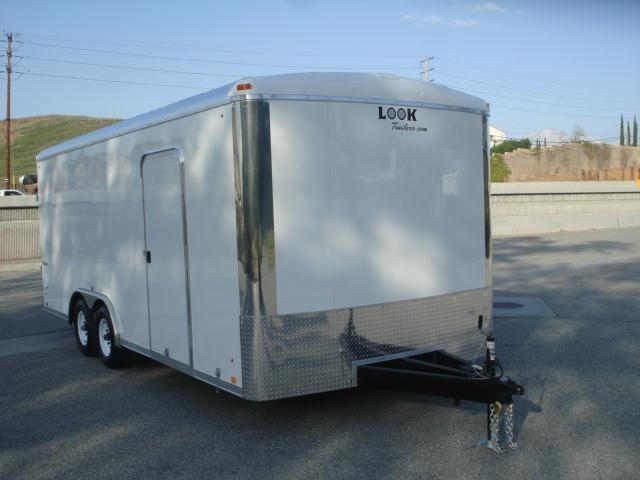 2013 LOOK TRAILER Round Top Car Hauler For Sale - REDLANDS, CA