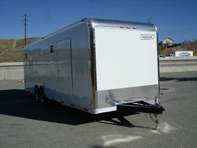 2014 HAULMARK TRAILER 102x28  Fully Loaded Race Trailer For Sale - REDLANDS