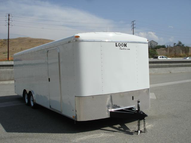 2014 LOOK TRAILER 102x24  ROUND TOP CAR HAULER  - REDLANDS, CA