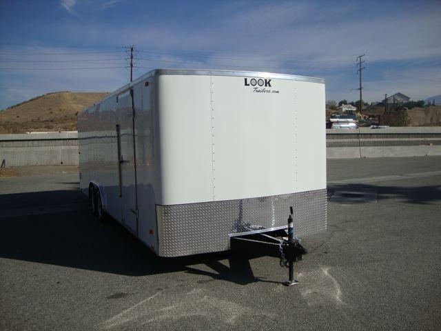 2013 LOOK TRAILERS LOOK STLA85X24TE3 HEAVY DUTY CAR / TOY HAULER - REDLANDS
