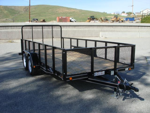 2013 LOAD TRAIL Landscaper trailer for sale 16ft  - REDLANDS, CA
