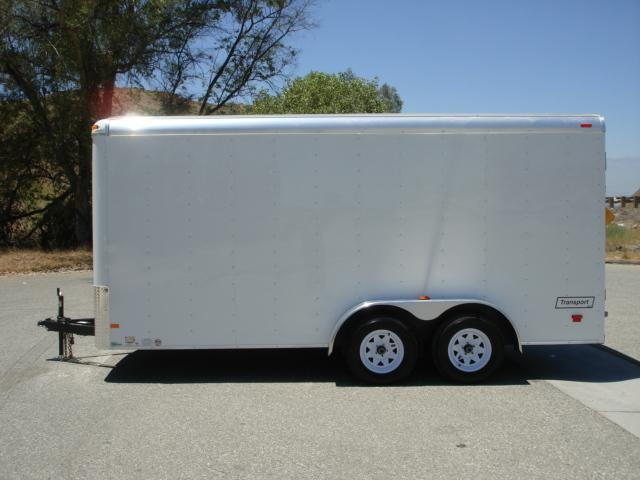 2013 HAULMARK TRAILER New 7x16 Covered Trailer For Sale  - REDLANDS CA