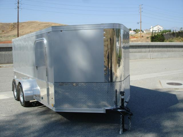2014 LOOK TRAILER 14ft 2-BIKE ENCLOSED TRAILER FOR SALE - REDLANDS, CA