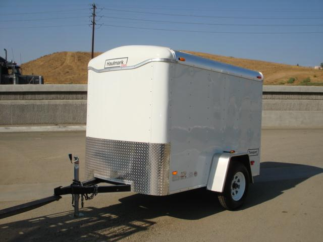 2013 HAULMARK TRAILERS 5X8 SINGLE AXLE CARGO TRAILER - REDLANDS, CA