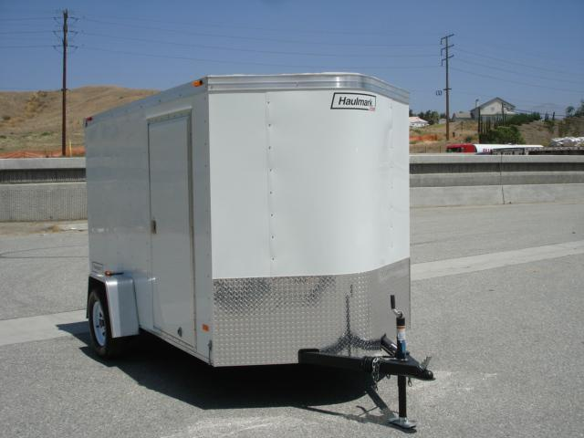2013 HAULMARK TRAILERS 6X10 WEDGE NOSE TRAILER FOR SALE - REDLANDS, CA