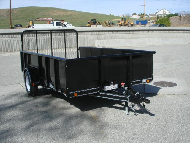 2012 LOAD TRAIL 8x12 Small Utility Trailer For Sale - REDLANDS, CA
