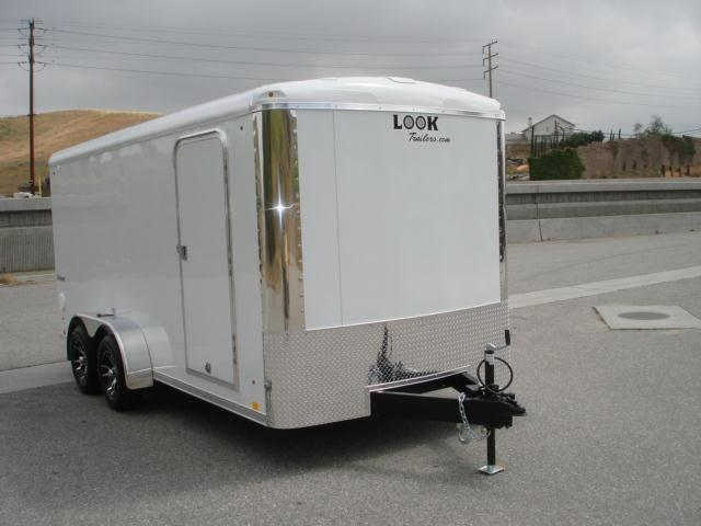 2013 LOOK TRAILER 7X16  HIGH QUALITY CARGO TRAILER - REDLANDS, CA