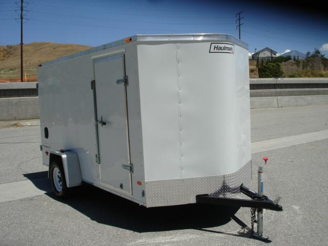 2013 HAULMARK TRAILERS 6X12 SMALL CARGO TRAILER FOR SALE - REDLANDS, CA