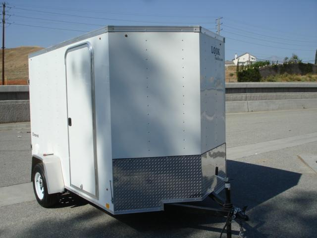 2014 LOOK TRAILER 6x10 V-Nose Gas Saver For Sale - REDLANDS, CA