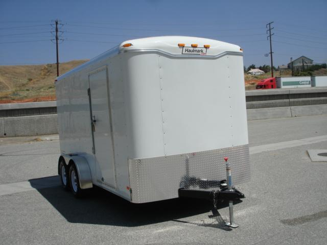 2013 HAULMARK TRAILER 14ft Round Top Cargo Trailer For Sale - REDLANDS, CA