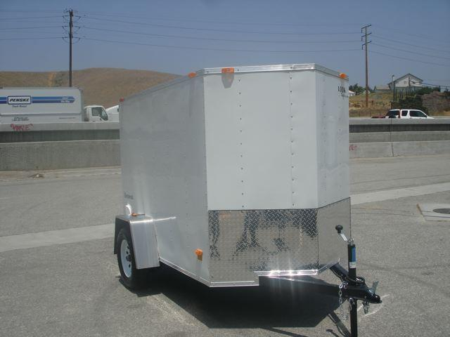 2013 LOOK TRAILERS 5X8 SMALL BOX TRAILER FOR SALE  - REDLANDS, CA