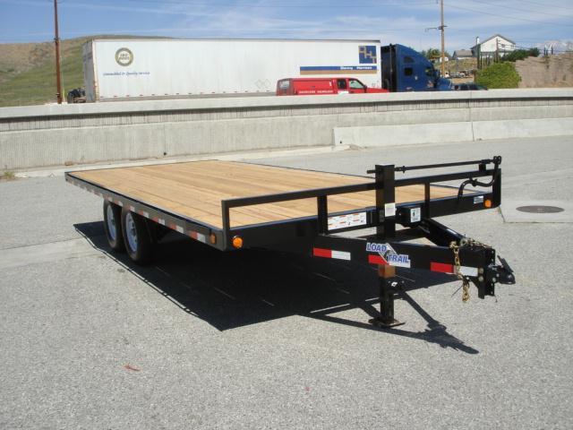 2013 LOAD TRAIL 20foot DeckOver Equipment Trailer For Sale - REDLANDS, CA