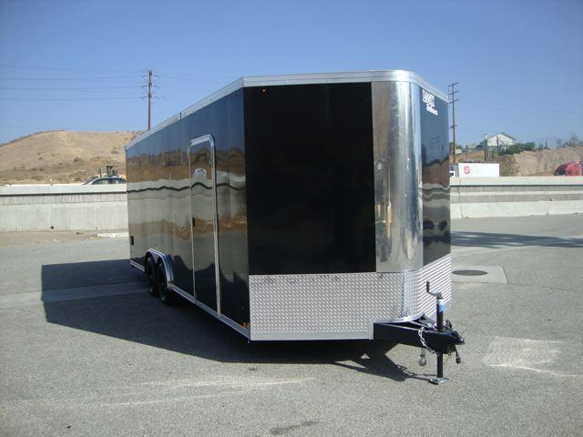 2013 LOOK TRAILERS LOOK VISION VWLA85X22TE3 SHOW CAR COVERED TRAILER - REDL