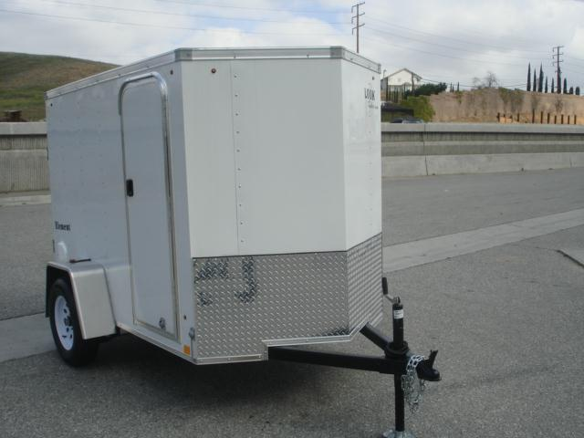 2014 LOOK TRAILER 8foot x 5 wide Cargo Trailer - REDLANDS, CA