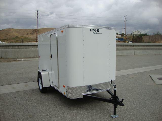 2013 LOOK TRAILERS 5X10 BOX TRAILER W/RV SIDE DOOR/ CARGO DOOR - REDLANDS,