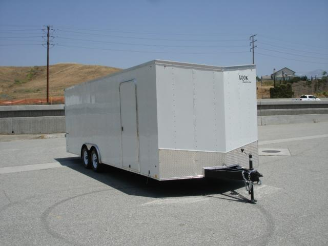 2014 LOOK TRAILER Slant Front End Car Hauler 24  Trailer - REDLANDS, CA
