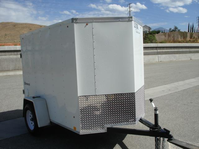 2013 LOOK TRAILERS 5X8 SINGLE AXLE CARGO TRAILER - REDLANDS, CA