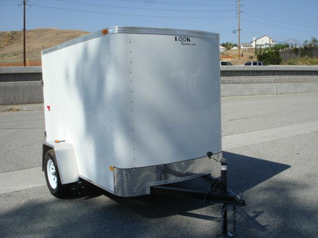 2013 LOOK TRAILERS FOR SALE 5X8 CARGO TRAILER W/CARGO DOOR - REDLANDS, CA