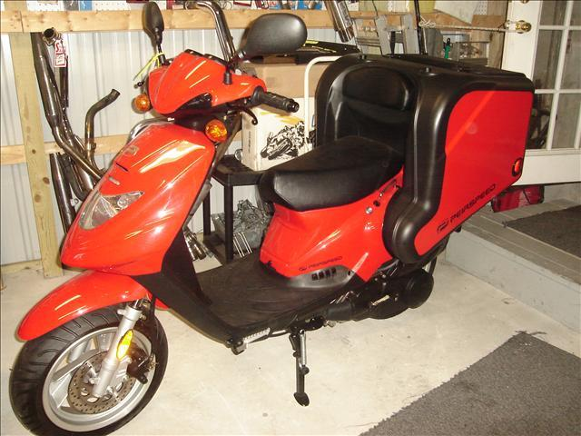 2009 PIERSPEED 150 cc DELIVERY