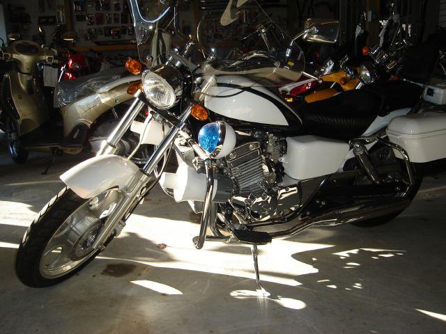 2007 JOHNNY PAG POLICE BIKE 300cc