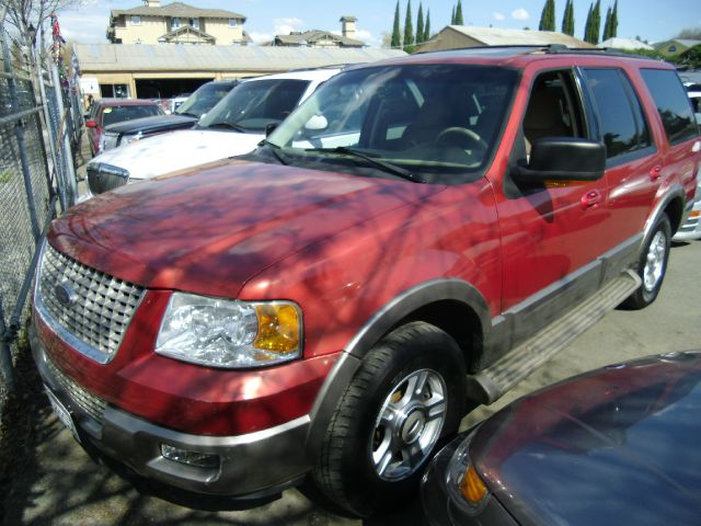 2003 FORD EXPEDITION EDDIE BAUER 4WD red 4wdawdabs brakesadjustable foot pedalsair conditionin