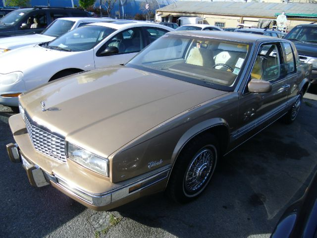 1988 CADILLAC ELDORADO COUPE gold alloy wheelsanti-brake system non-abs  4-wheel absbody style