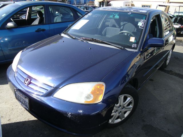 2003 HONDA CIVIC EX SEDAN blue abs brakesair conditioningamfm radioanti-brake system 4-wheel