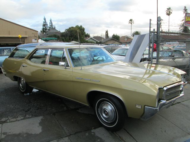 1969 BUICK SPORT WAGON zubadowdow yellow one owner super original matching numbers 0 m
