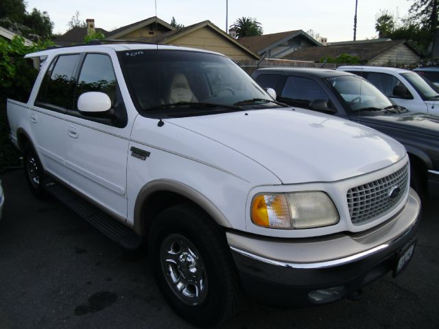 1999 FORD EXPEDITION EDDIE BAUER 4WD white 4wdawdabs brakesair conditioningalloy wheelsamfm