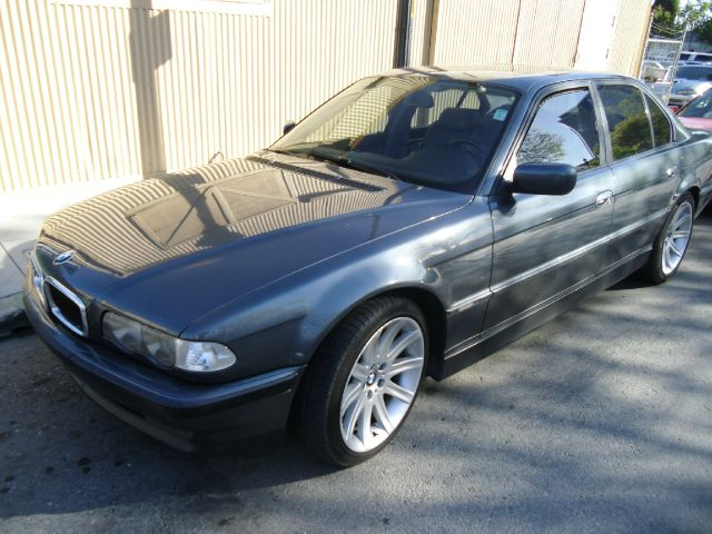 1999 BMW 7 SERIES 740I charcoal abs brakesair conditioningalloy wheelsamfm radioanti-brake sy