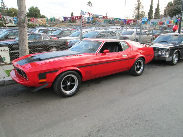 1973 FORD MACH 1 red matching numbers fully documented wont last 0 miles VIN 111234567891