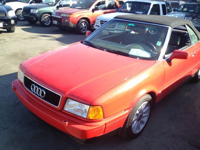 1997 AUDI CABRIOLET red 97000 miles VIN WAUAA88G3VN002401 