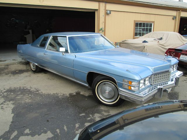 1974 CADILLAC DEVILLE blue like new documented matching numbers 40000 miles VIN 11111123