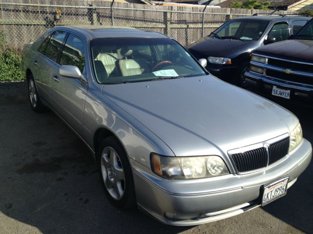 2000 INFINITI Q45 silver abs brakesair conditioningalloy wheelsamfm radioanti-brake system 4