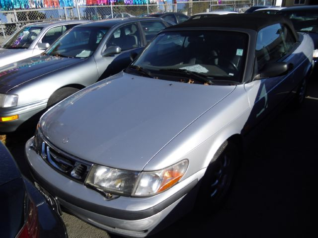 2000 SAAB 9-3 CONVERTIBLE silver abs brakesair conditioningalloy wheelsamfm radioanti-brake s