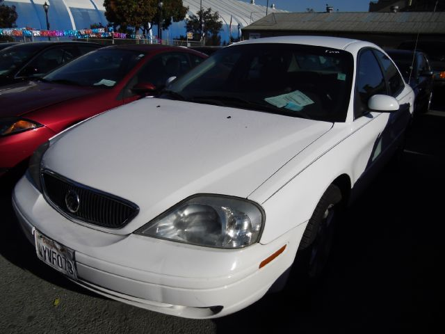 2003 MERCURY SABLE GS white air conditioningamfm radioanti-brake system non-abs  4-wheel abs