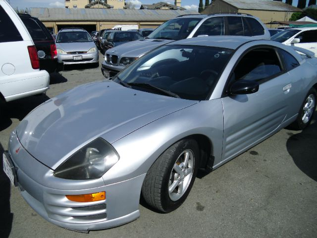 2001 MITSUBISHI ECLIPSE RS silver air conditioningalloy wheelsamfm radioanti-brake system non