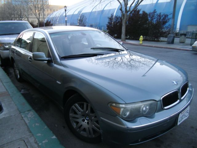 2002 BMW 7 SERIES 745LI green abs brakesair conditioningalloy wheelsamfm radioanti-brake syst