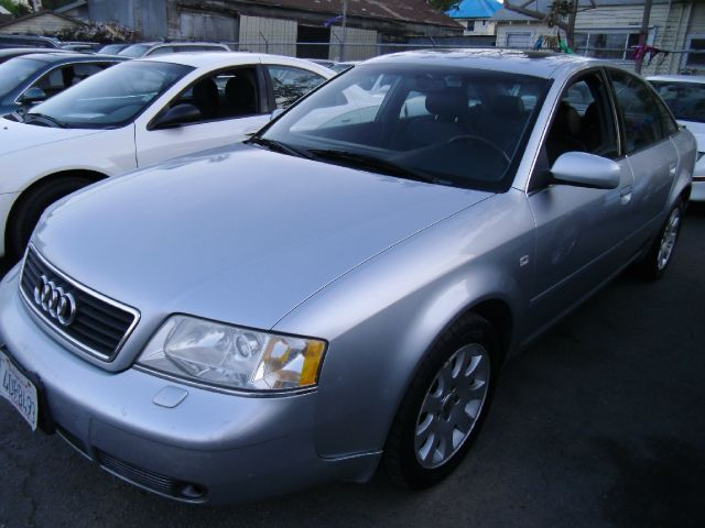 1998 AUDI A6 QUATTRO silver 4wdawdabs brakesair conditioningalloy wheelsanti-brake system 4-
