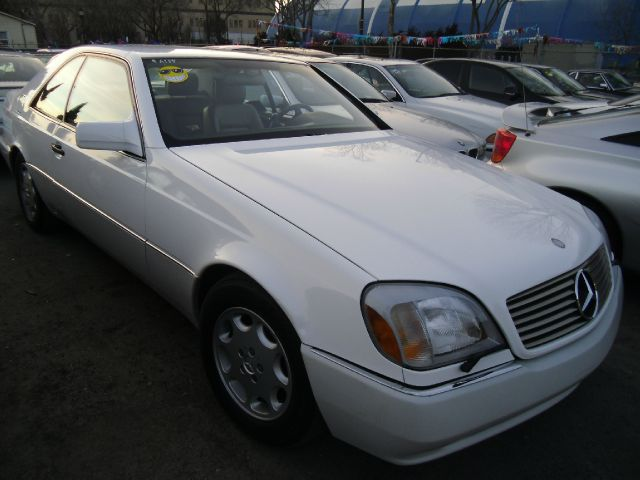 1995 MERCEDES-BENZ S-CLASS S500 COUPE white abs brakesair conditioningalloy wheelsanti-brake sy