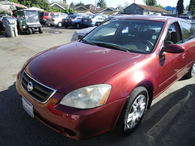 2003 NISSAN ALTIMA 25 S red air conditioningamfm radioanti-brake system non-abs  4-wheel abs