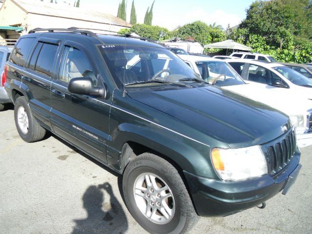 2000 JEEP GRAND CHEROKEE LIMITED 4WD green 4wdawdabs brakesair conditioningalloy wheelsamfm 