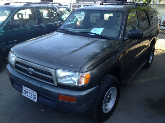 1997 TOYOTA 4RUNNER 2WD green anti-brake system non-abs  4-wheel absbody style sport utility 4