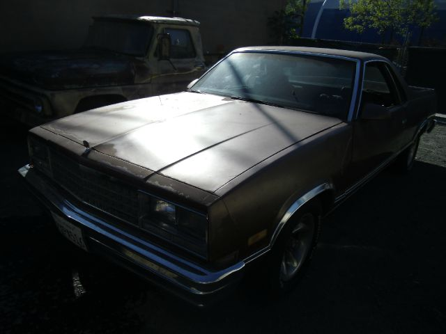 1986 CHEVROLET EL CAMINO brown 2 doorair conditioningalloy wheelsamfm radioautomatic transmis