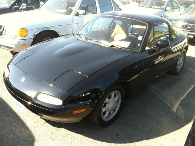 1993 MAZDA MX-5 MIATA black anti-brake system non-abs  4-wheel absbody style convertible 2-dr